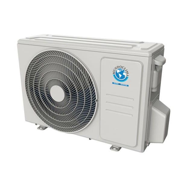 MundoClima MUPR-09-H11 Mono-Split Klimaanlage im Set 2,6/2,9 Kühlen/Heizen inkl.IR-FB-R32
