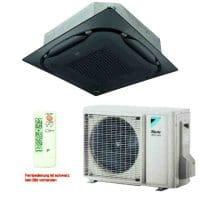 Daikin Klimaanlage Deckenkassette FCAG35B-3 Standard/schwarz +RZAG35A 3,5 kW Kühlen